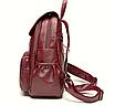 Рюкзак женский кожаный Laura Cиний, фото 4