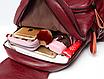Рюкзак женский кожаный Laura Cиний, фото 6