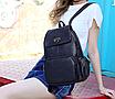 Рюкзак женский кожаный Laura Cиний, фото 3