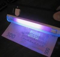 Ручной ультрафиолетовый детектор валют DL-01