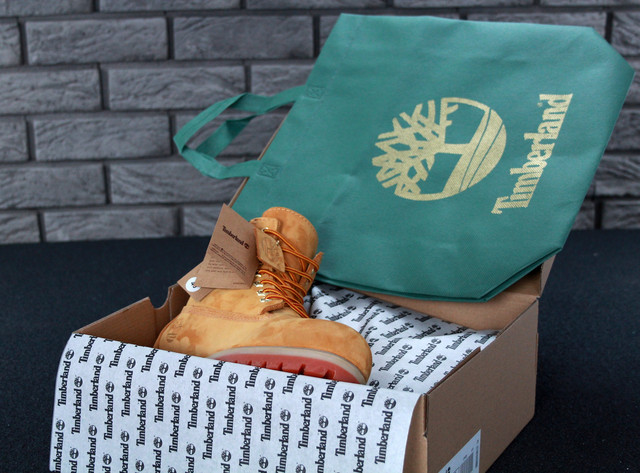 Мужские ботинки Timberland Classic Yellow на меху фото