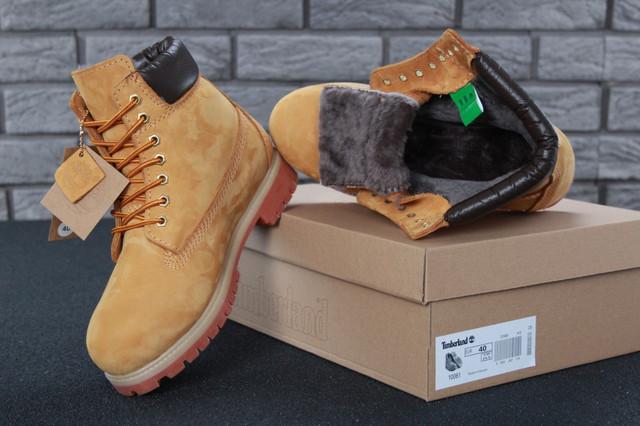 Мужские ботинки Timberland Classic Yellow фото