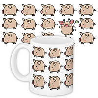Кружка с принтом, Год свиньи (KR_PIG058)