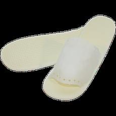 Тапочки одноразовые, белые, размер 36-39 (пара)