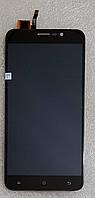 Модуль (дисплей+сенсор) для Cubot Note S black