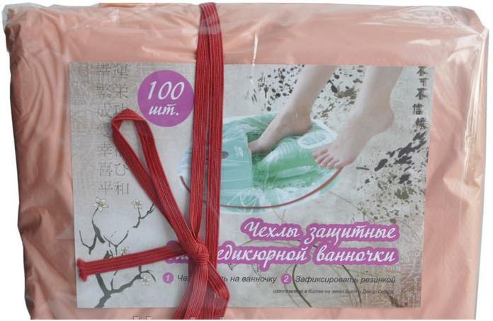 Чехлы на ванночку для педикюра 700*500 (резинка отдельно 1 шт.) Profcosmo (100шт./уп.)