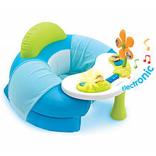 Столик с надувным сиденьем Cotoons Smoby голубой