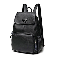 Рюкзак женский кожаный Laura Черный, фото 1