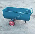 Візок для сухих кормів 400л, Тележка для сухих кормов 400л, фото 10