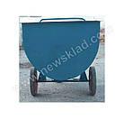 Візок для сухих кормів 400л, Тележка для сухих кормов 400л, фото 8