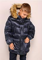 Детская теплая куртка на мальчика Moris (36–40р) в расцветках