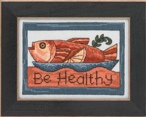Набір для вишивки Be Healthy Mill Hill