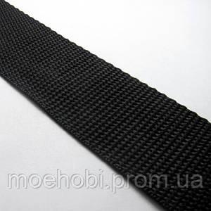 Ременная лента черная (38мм)  6345