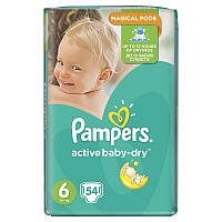 Подгузники Pampers Active Baby 6 (13-18 кг), 54шт