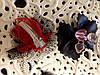Заколка бантик заколочка для волос черный бант, фото 3