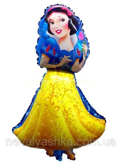 Шар Воздушный Фольгированный Шарик Надувной Фигура Принцесса, 002594