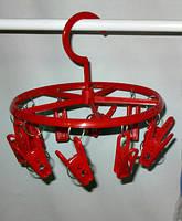 Вертушка торговая с прищепками , диаметр  210 мм