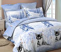 Комплект постельного белья ХАСКИ 2 (Бязь, ГОСТ) полуторный