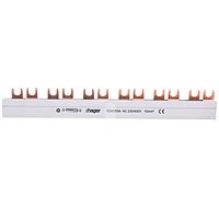 Шина соединительная вилочная, 2P 12мод. 10мм Hager