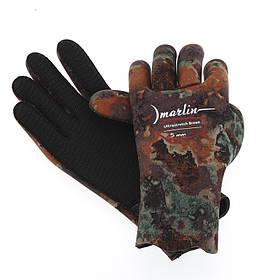Перчатки для подводной охоты Marlin Ultrastretch Brown 5 мм