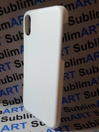 Чехол для 3D сублимационной печати на Iphone XR матовый (без перегородки), фото 2