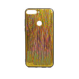 Чехол накладка для Huawei Y7 Prime 2018 LDN-L21 силиконовый, HONOR Chameleon, Разноцветный