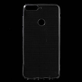 Чехол накладка для Huawei Y7 Prime 2018 LDN-L21 силиконовый, Air Case, прозрачный