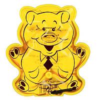 Солевая грелка «Поросенок» от Дельта Терм, цвет - желтый, с доставкой по Киеву и Украине