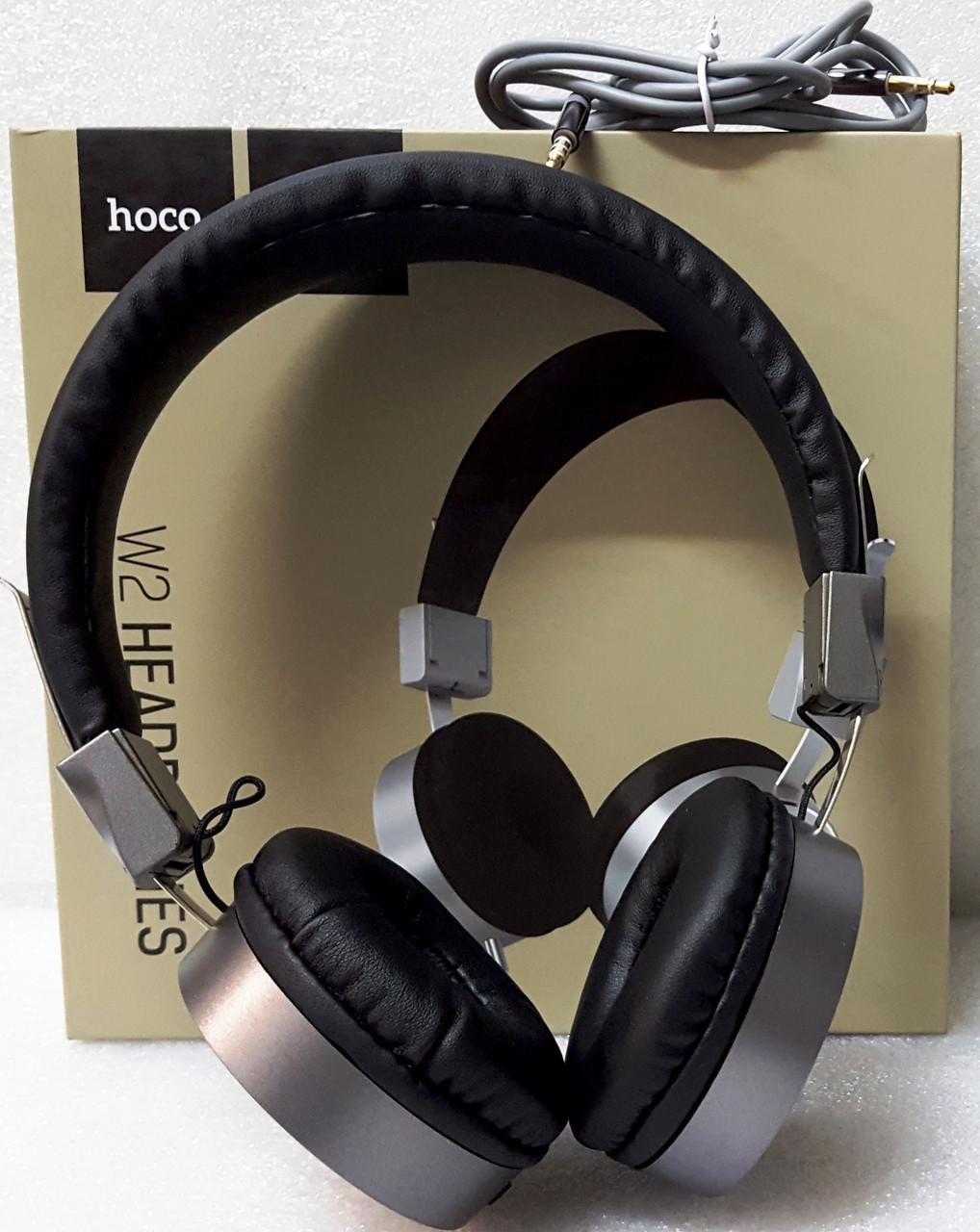 Навушники провідні HOCO W2
