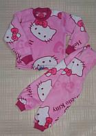 Крутая, тёплая детская пижама! Ткань - махра (травка)
