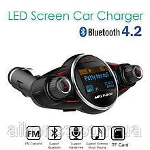 BT08 Mp3 плеер FM модулятор трансмиттер Bluetooth зарядка USB громкая связь