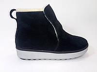 Женские замшевые зимние ботинки ТМ Santini, фото 1