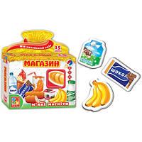 """Набір """"Мій маленький світ. Магазин"""" VT3101-18 (укр) ."""