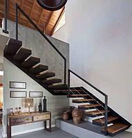 Лестницы консольные, для дома и офиса, современных интерьеров в стиле минимализма, ЛОФТ