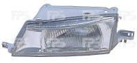 Фара передняя DEAWOO NEXIA 95-08 левая, рифлен. рассеиват, электр. регулир. 1105 R7-P