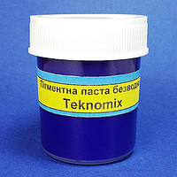 """Пигментные пасты безводные """"TEKNOMIX"""" для эпоксидной смолы 25 ml Синяя, фото 1"""