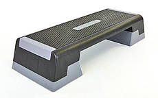 Степ-платформа черный-серый ZELART