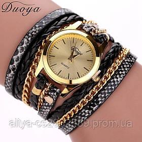 Женские часы - браслет с длинным ремешком