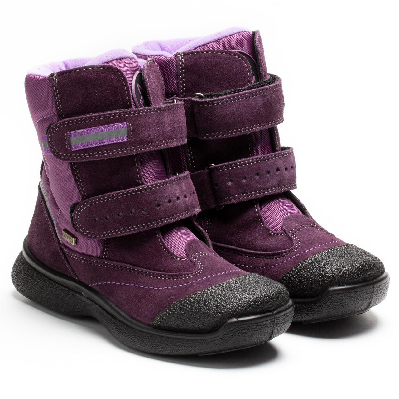 Зимние сапоги Tigina, на мембране для девочки, размер 29-32 *