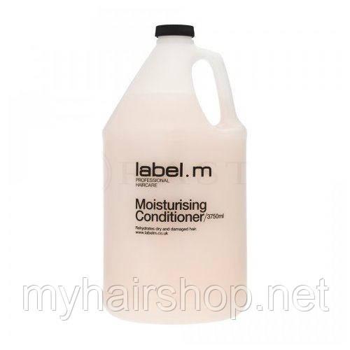 Кондиционер для волос Увлажняющий LABEL.M Moisturising Conditioner 3750 мл