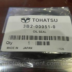 3B2-00051-0 Сальник коленвала центральный 25x47x7 TOHATSU/MERCURY 6/8/9.8