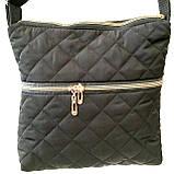 Стьобані жіночі сумки (3 кольори)25*28см, фото 4