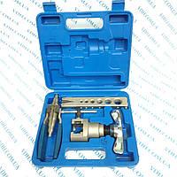 Набор для обработки труб VALUE VFT 808-IЕ ( вальцовка, одна планка, труборасширитель)