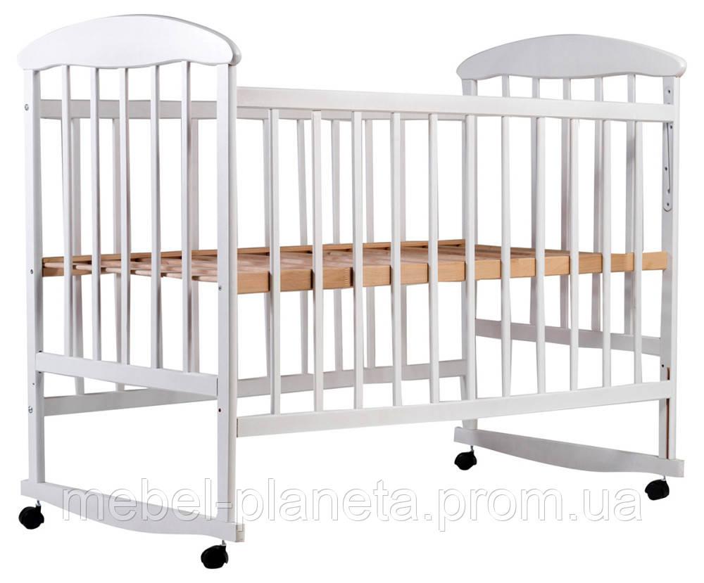 Кровать Наталка ольха белая