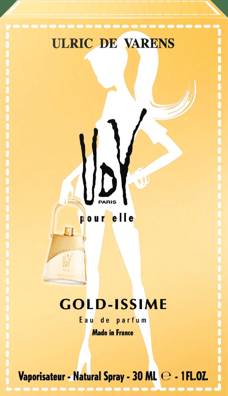 Женские духи UdV - Ulric de Varens Gold-Issime, 30 мл.