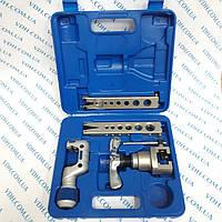 Набор для обработки труб VALUE VFT 808 -MIS ( Вальцовка, две  планки метр /дюйм  ,один труборез,   )