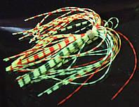 Силиконовая юбочка для рыболовного спинербейта Ассорти V1, фото 1