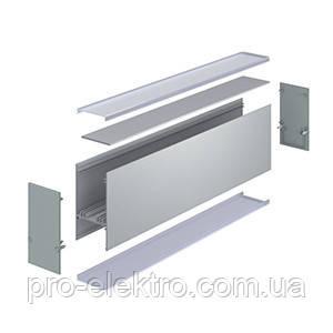 """Серия """"Premium"""" ЛСБ40 Профиль алюминиевый, анодированный, цвет - серебро., фото 2"""
