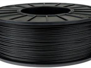 Пластик в котушці ELASTAN 1,75 Чорний, 0.5 кг, Твердий D70