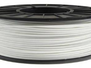 Пластик в котушці ELASTAN 1,75 Білий, 0.5 кг, Стандартний D100